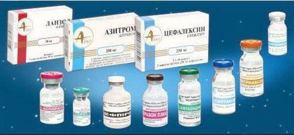 Уколы при воспалении придатков — эффективные препараты