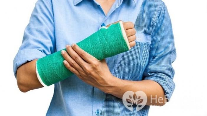 Признаки перелома кости